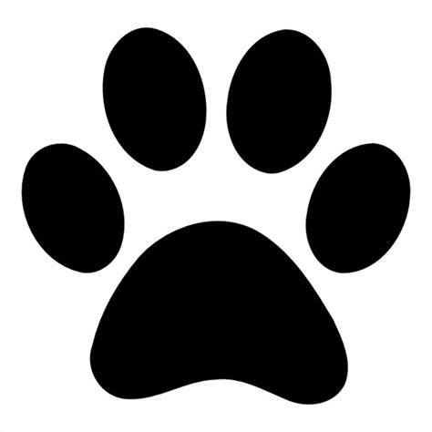 paw stencil related keywords suggestions paw stencil