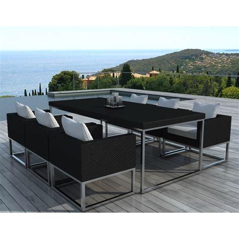 Table De Jardin Resine Tressee