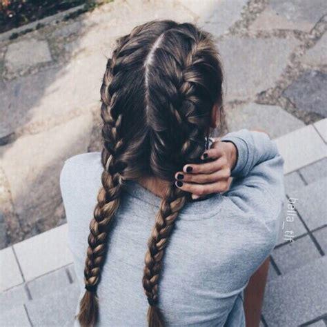 fashion icon plaited hair artsy fashion girl hair hairstyles image 3958946 by