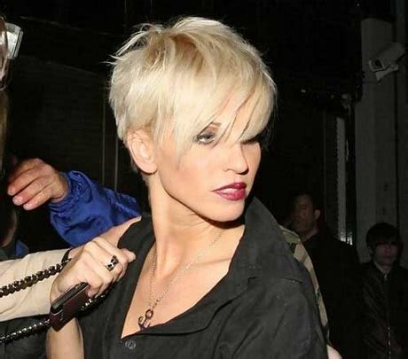 frisuren kurz blond damen