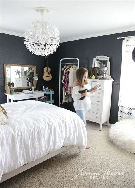 pinterest teenage girl bedroom ideas the dark grey walls might compliment that wallpaper nicely