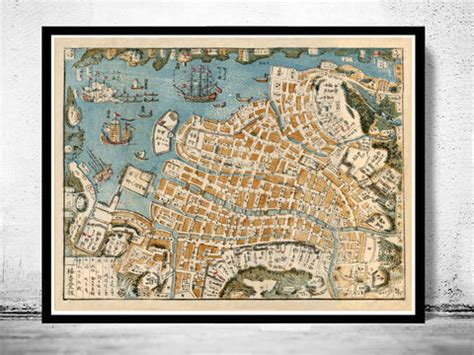 old map of breslau wroclaw poland 1895 old maps and
