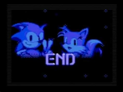 Master A 1 2 End sonic the hedgehog 2 ntsc ending on sega gear