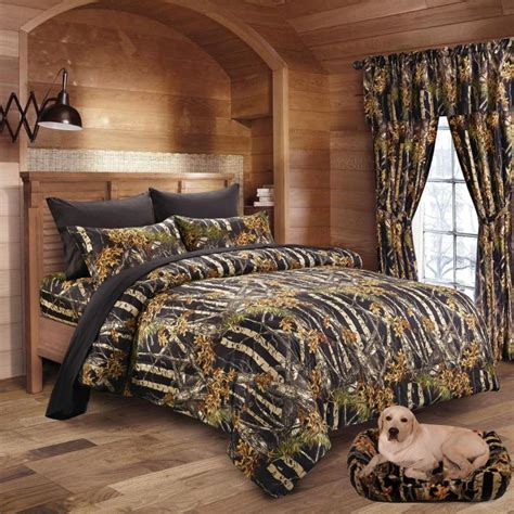 Matching Comforter And Curtain Sets by Twin Queen King Camo 13pc Comforter Bed Set Camouflage