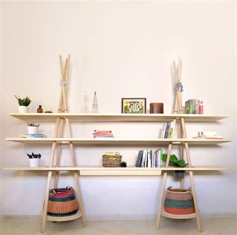 Stacked Bookshelf Tipi L 233 Tag 232 Re Bureau Par Assaf Israel Blog Esprit Design