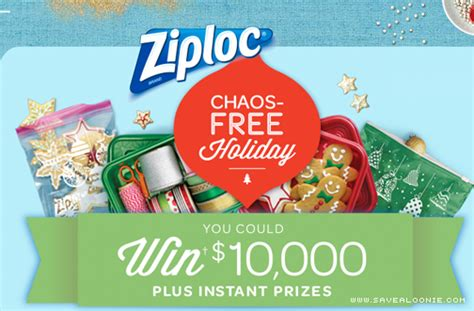 Free Sweepstakes Sites - ziploc chaos free holiday sweepstakes