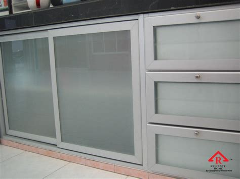 aluminum kitchen cabinet aluminium cabinet door reliance homereliance home