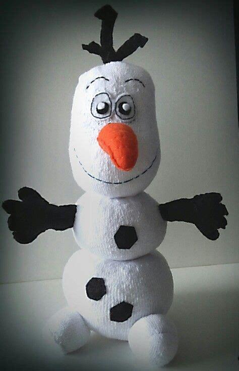 frozen sock snowman sock olaf snowman olaf boneco de neve baseado no