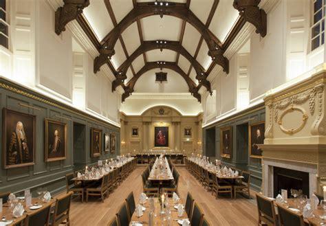 Dining Hall, Trinity Hall lighting design by ***** Lea