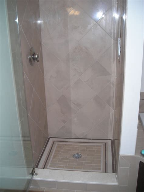 Tiled Shower Stalls Bath Project Three Tile Shower Stall Pocono Modular