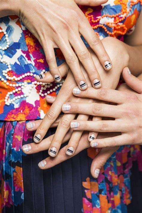 runway nails ideas  pinterest chic nail art