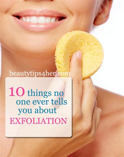 10 things you probably don t about exfoliation