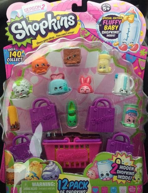 new shopkins 12 pack season 2 special edition fluffy baby