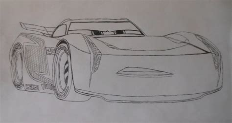 Cars 3 Sketches by Cars 3 Jackson Colouring Sheet By Sgtjack2016 On