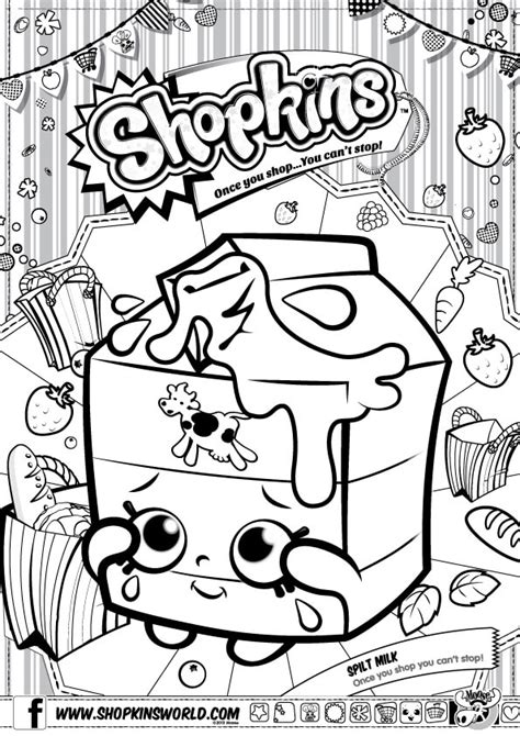 shopkins wishes coloring page shopkins coloring pages