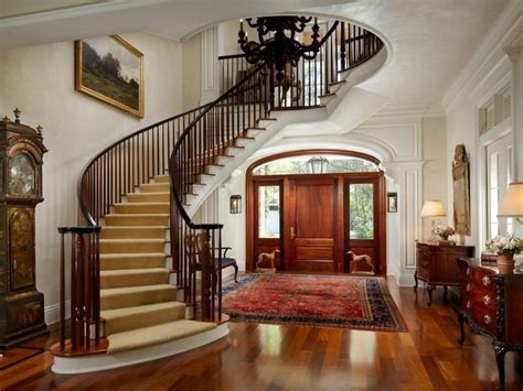 Fancy Staircase classy georgian manor in fort lauderdale florida united