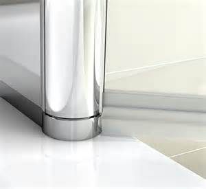 180 176 pivot 6mm glass bath screen shower screen
