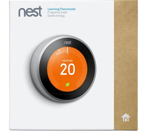 nest learning thermostat 3rd generation silver deals