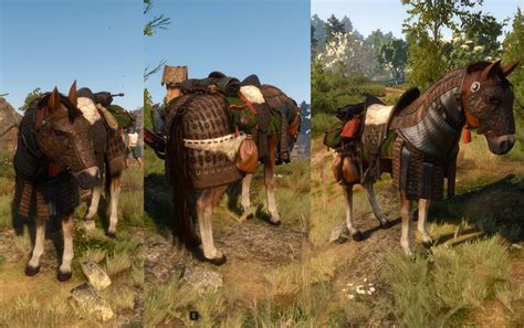 Horse Saddle by Skellige Undvik Armor Set The Witcher 3