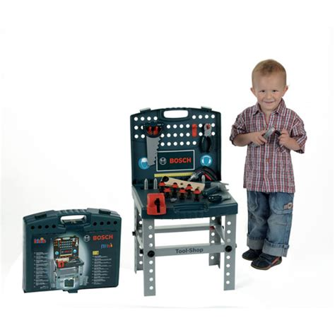 bosch toy tool bench theo klein bosch toy tool shop play set with ixolino