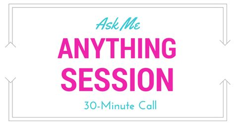 What To Ask During Mba Consult Session by Ask Me Anything Sessions Binx Parenting Services Albany