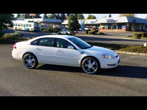 20 inch rims for chevy impala impala on 20 inch rims doovi