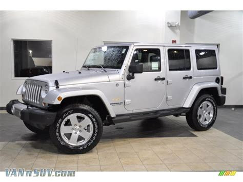 jeep silver 2011 jeep wrangler unlimited 4x4 in bright silver