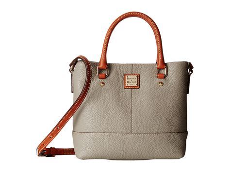 Dooney Bourke Introducing Dooney And Bourke Mini Collection by Lyst Dooney Bourke Pebble Leather Mini Chelsea Shopper