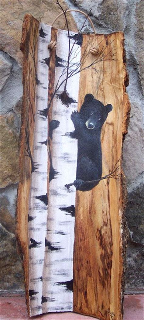 tree painted on wood ideas 129 best images about wood burning on