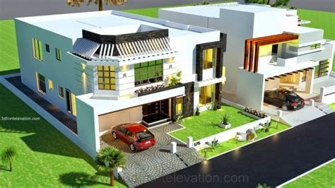 house front layout design house floor plan with 3d elevation house floor plans