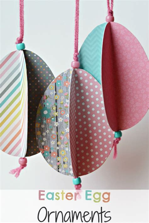 Easter Egg Paper Crafts - the of easter egg ornament craft