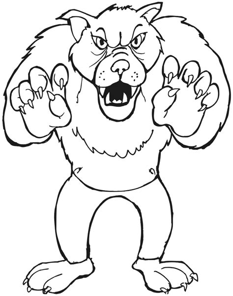 big bad wolf template realistic coloring pages coloring pages