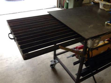 welding bench ideas 25 best ideas about welding table on pinterest welding