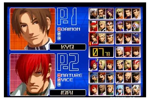 download kof 10th unique 2