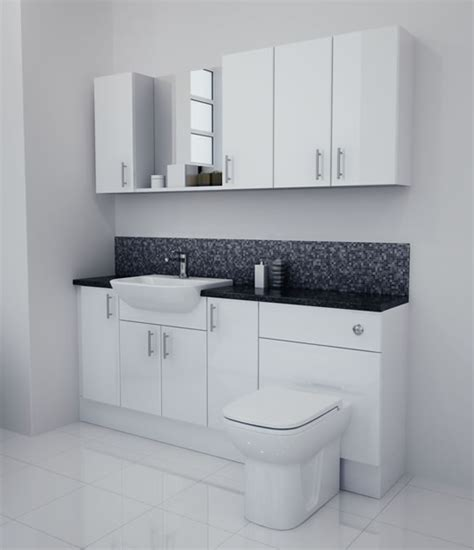 fitted bathroom furniture white gloss fitted bathroom furniture white gloss white gloss