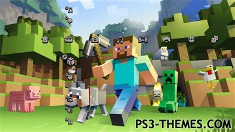 themes ps3 minecraft ps3 themes 187 search results for quot minecraft quot