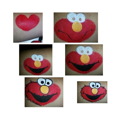 painting elmo lynne pickett elmo step by step painting