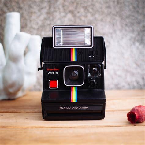 camaras antiguas instantaneas polaroid 1000 one step flash 161 blanca my vintage shoot