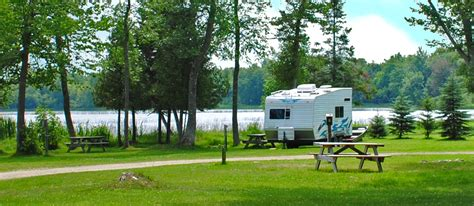 Manistique Lake Cabins by Sherman S Resort Cabin Rentals Cground South