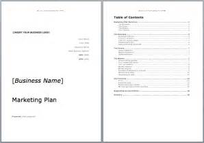 Marketing Plan Template by Marketing Plan Template Microsoft Word Templates