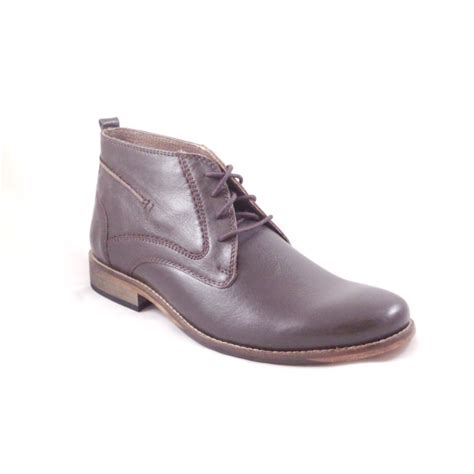lotus noah brown leather lace up boot lotus from