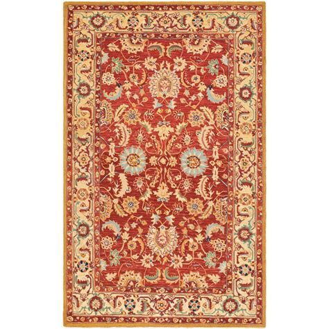 7 foot area rugs safavieh chelsea ivory 7 ft 9 in x 9 ft 9 in area rug hk805a 8 the home depot