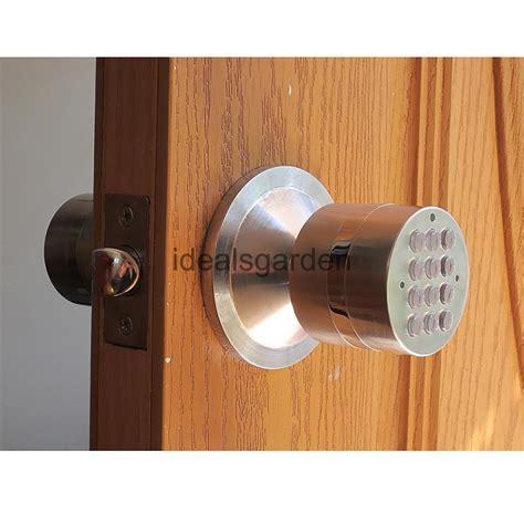 Code Lock Door Knobs by Digital Electronic Code Keyless Keypad Security Entry Door