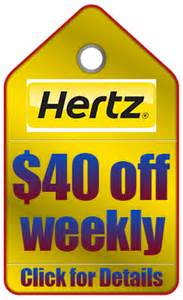 Car Rental Usa Hertz Car Rental Coupons And Discount Codes