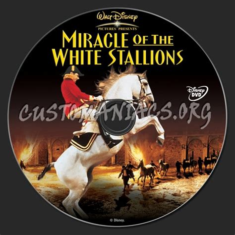 Miracle Of The White Stallions Free Miracle Of The White Stallions Dvd Label Dvd Covers Labels By Customaniacs Id 120101 Free