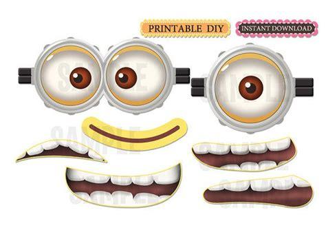 printable minion eyes for balloons diy printable instant download minion inspired birthday