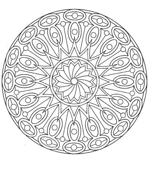 blank mandala coloring pages mandala coloring page blank coloring pages