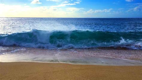 ocean waves relaxation  hours soothing waves crashing
