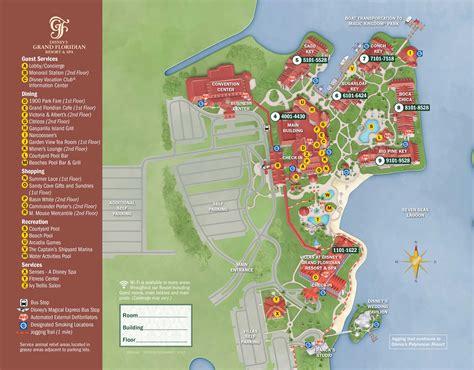 caribbean resort map pdf grand floridian resort map kennythepirate
