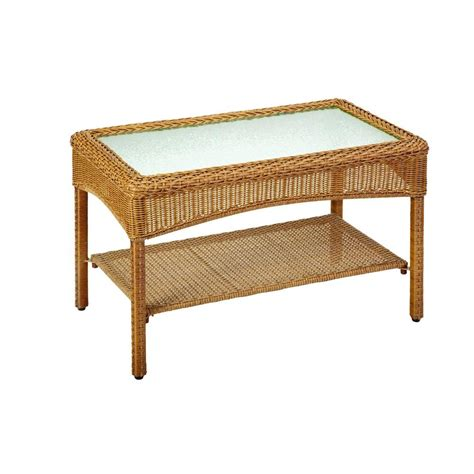 Martha Stewart Living Charlottetown Natural All Weather Martha Stewart Patio Table